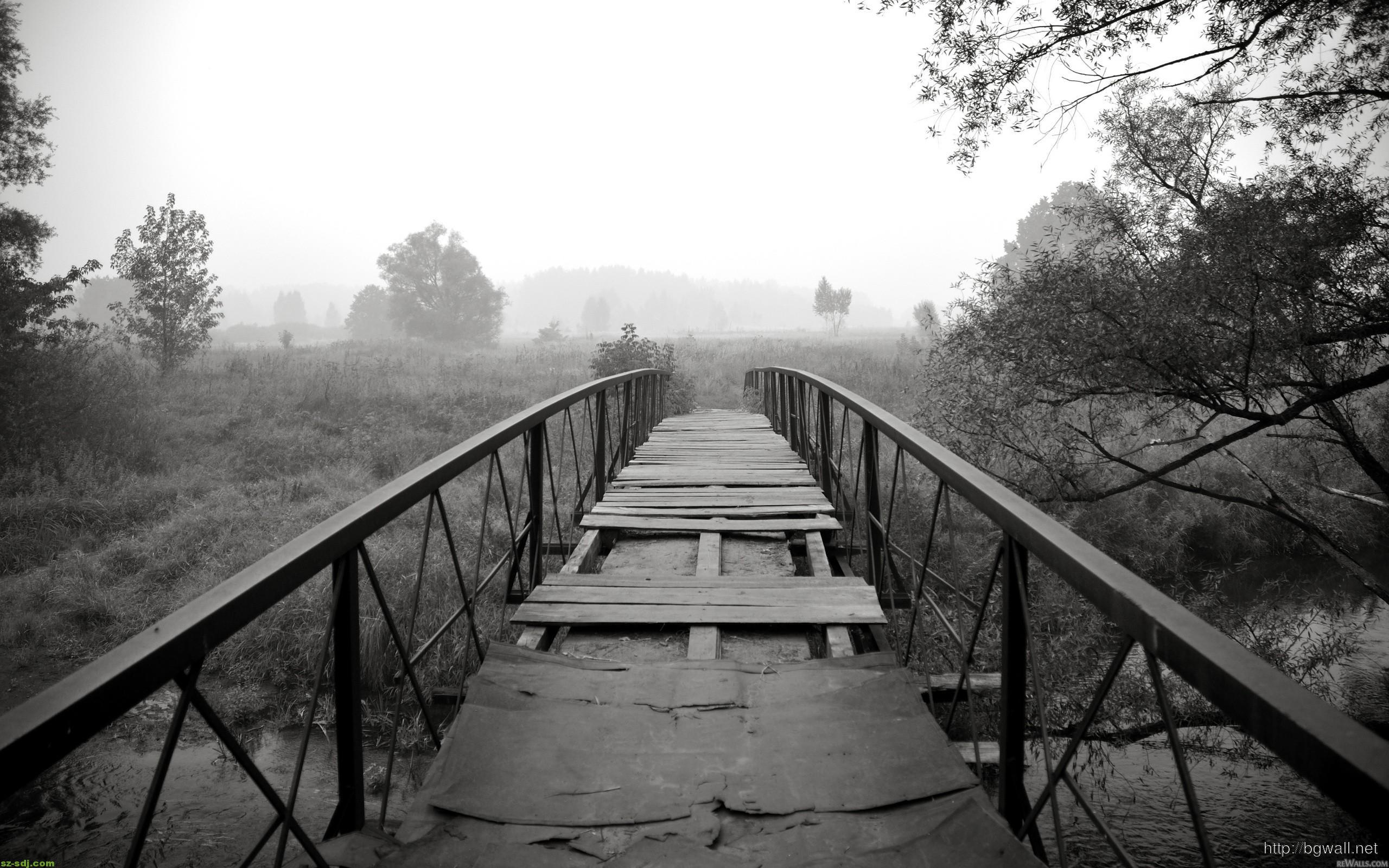 Cute Wallpapers Gold White Black And White Bridge Nature Wallpaper Computer