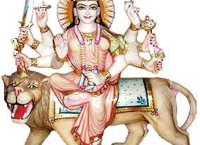 Durga on Lion