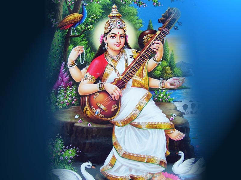 Bhakti Wallpaper 3d Hd Download 7 Best Goddess Saraswati Wallpapers Bhakti Time