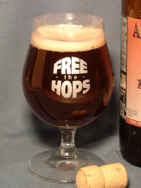 Free The Hops tulip glass