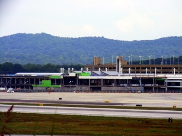 new BHM concourse under construction