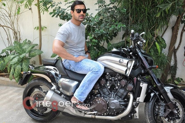 Girl With Bike Hd Wallpaper John Abraham Gifts A Yamaha V Max Motorcycle To Director