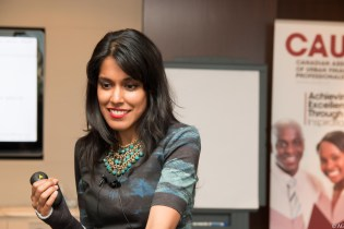 Canadian Associaiton of Urban Financial Professionals, April 30, 2015: Ritu Bhasin speaks on the importance of confidence for diverse professionals – Toronto, ON