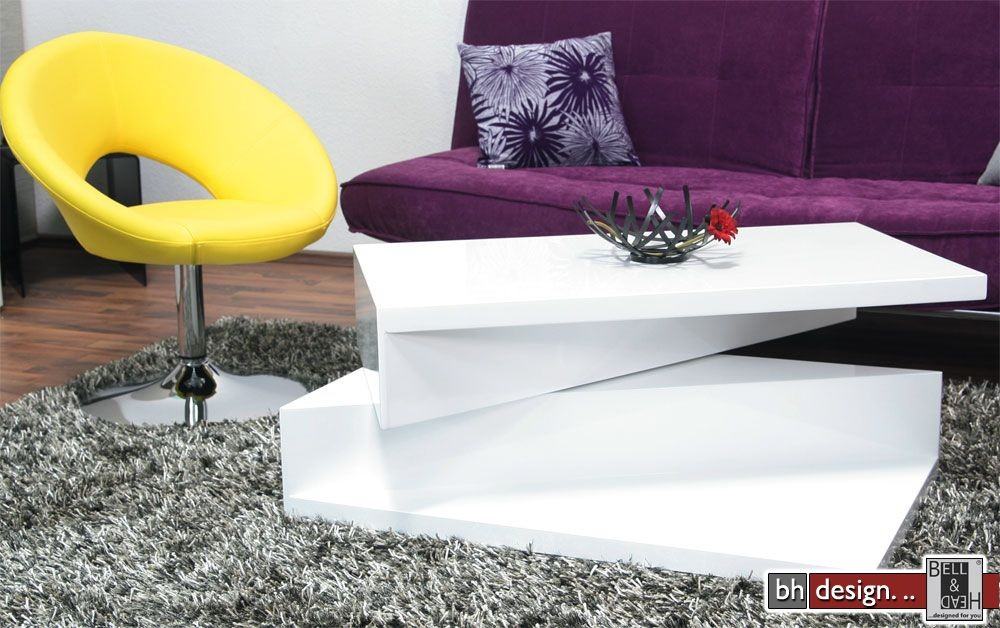 Monaco2 Couchtisch Weiss 100 Cm Powered By Bell Head