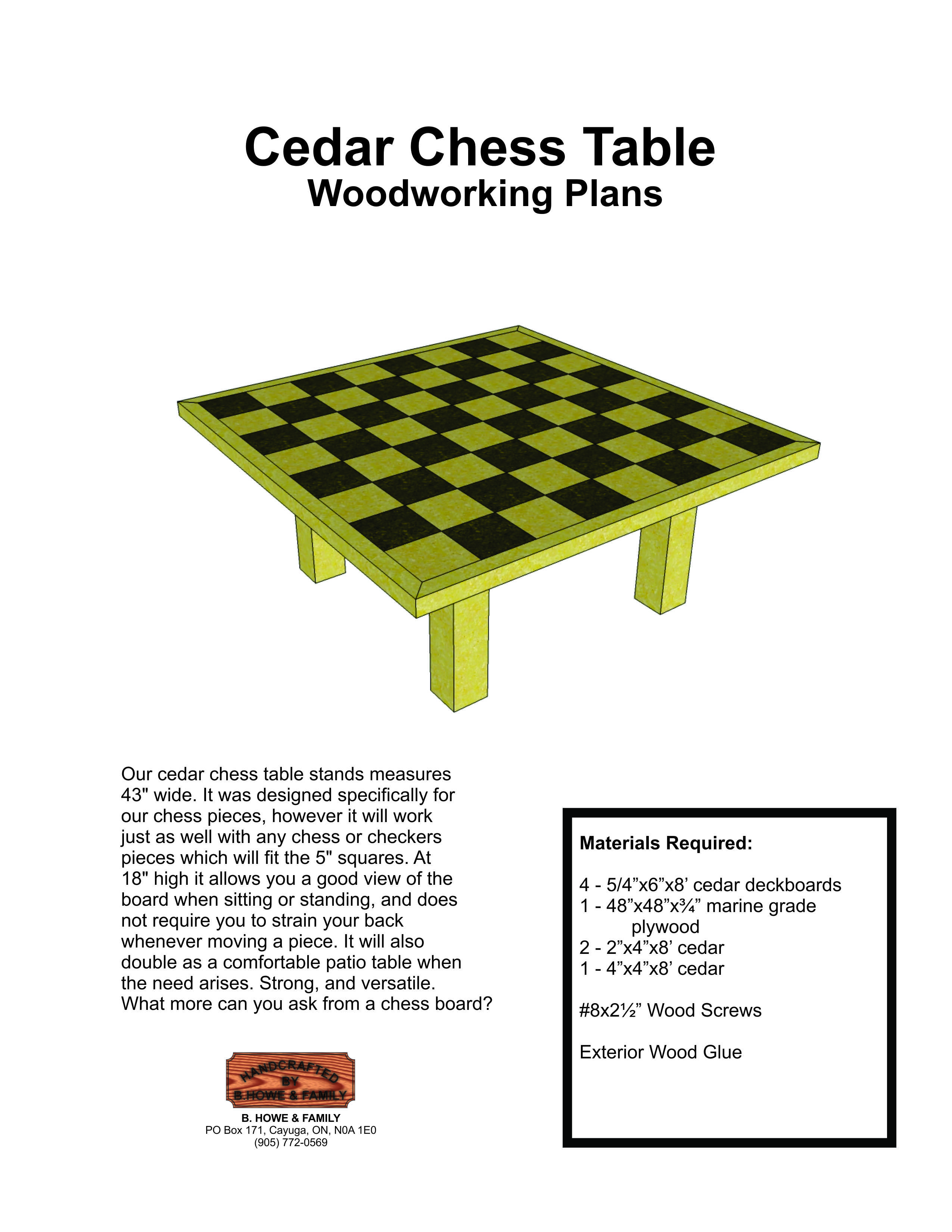 Diy Wood Chess Board Diy Chess Table Plans Wooden Pdf Woodshop Accessories Tool