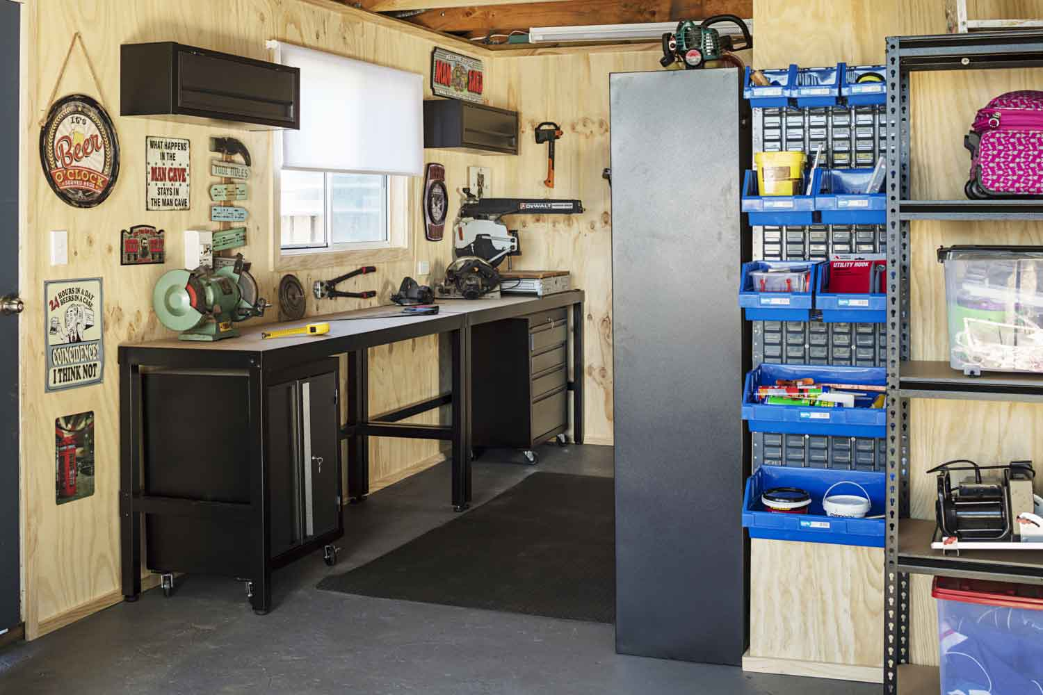 Garage Conversion Man Cave How To Convert Your Garage Into A Hangout Zone Better Homes And