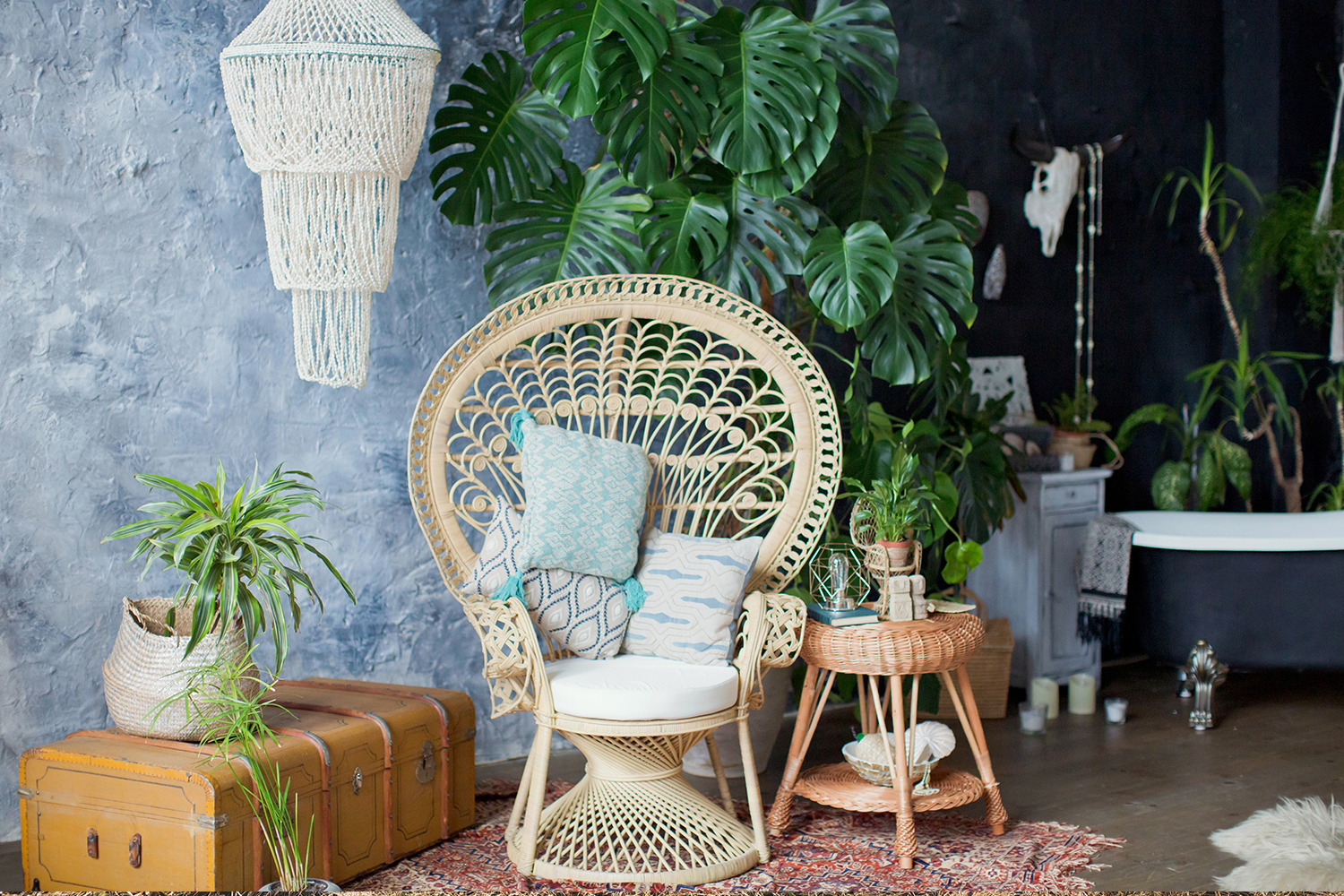 Cane Furniture Perth Retro Rattan Is Making A Big Comeback Better Homes And Gardens