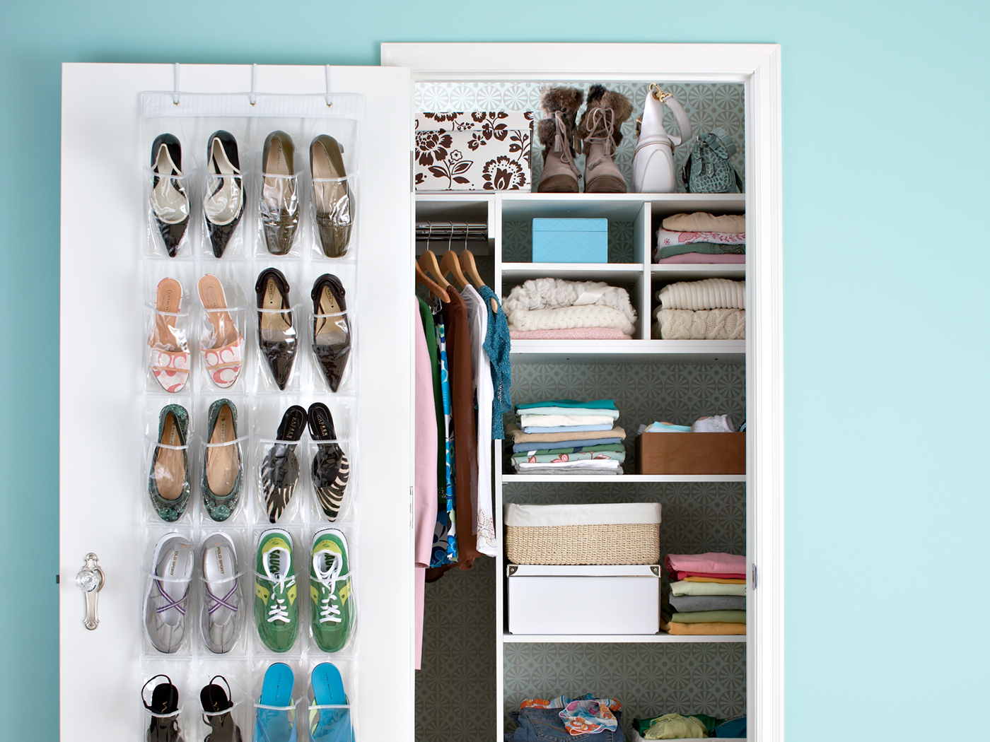 Small Space Organization Small Closet Organization 7 Tips To Create Space Better Homes