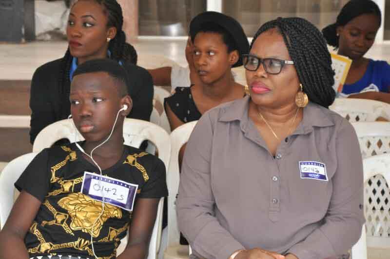 Contestants awaiting audition at GCGT 7 Abuja