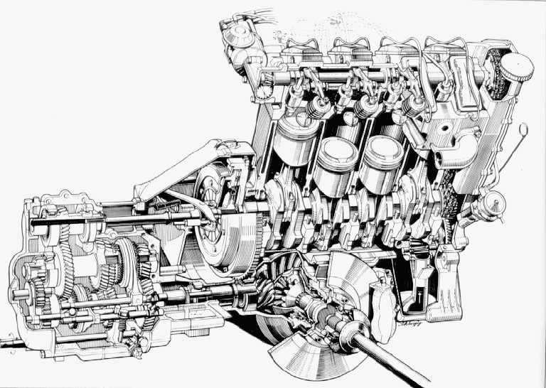 mini one engine layout