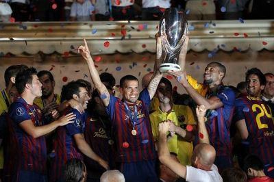 Barcelona zdobywa Superpuchar Europy