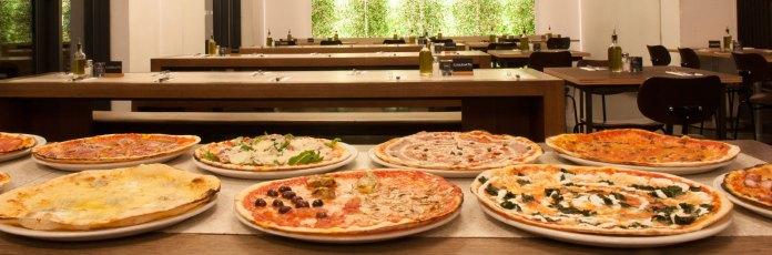 nero - pizza & grill - Rumfordstraße - Isarvorstadt - München - italienisches Frühstück und Essen - Pizzaauswahl