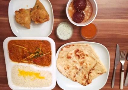 Bombay Tandoori Lieferdienstcheck Pizza de 9