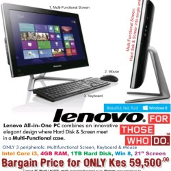 All in One PC-The future of desktop Lenovo