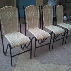 Wicker cane craft furnitures