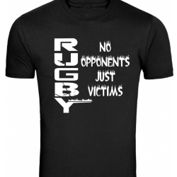 Rugby No Opponents  designs - White 1