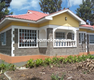 3 Bedroom Bungalow Master Ensuite For Sale In Kiserian I Biashara Kenya