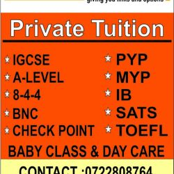 Tuition Advert A4