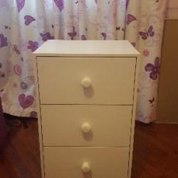 Kidstuff white drawer
