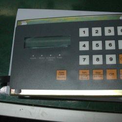 Plastic keypad