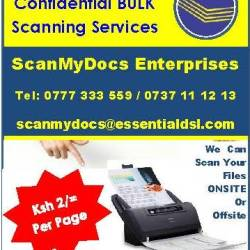 scanning advert