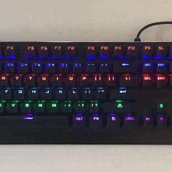 Mechanical Multimedia Illuminated Ergonomic RGB Wired Gaming Keyboard b33@ Ksh 2950.00