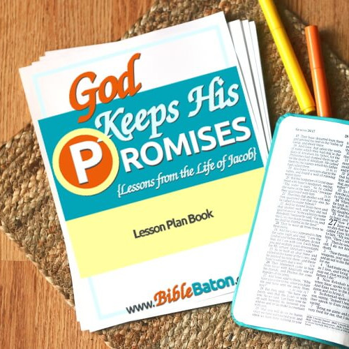 God Keeps His Promises {LESSON PLAN BOOK} \u2022 BibleBaton