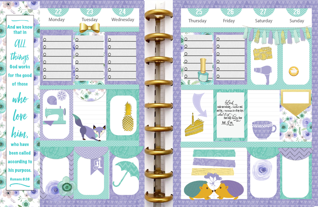 Free Planner Stickers with Daily Chore Check List \u2013 Bible Journal Love - daily chore