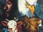 os quatro animais