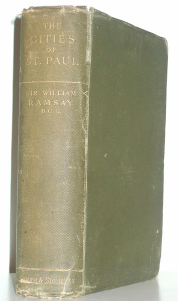 The Cities of St. Paul by William M. Ramsay