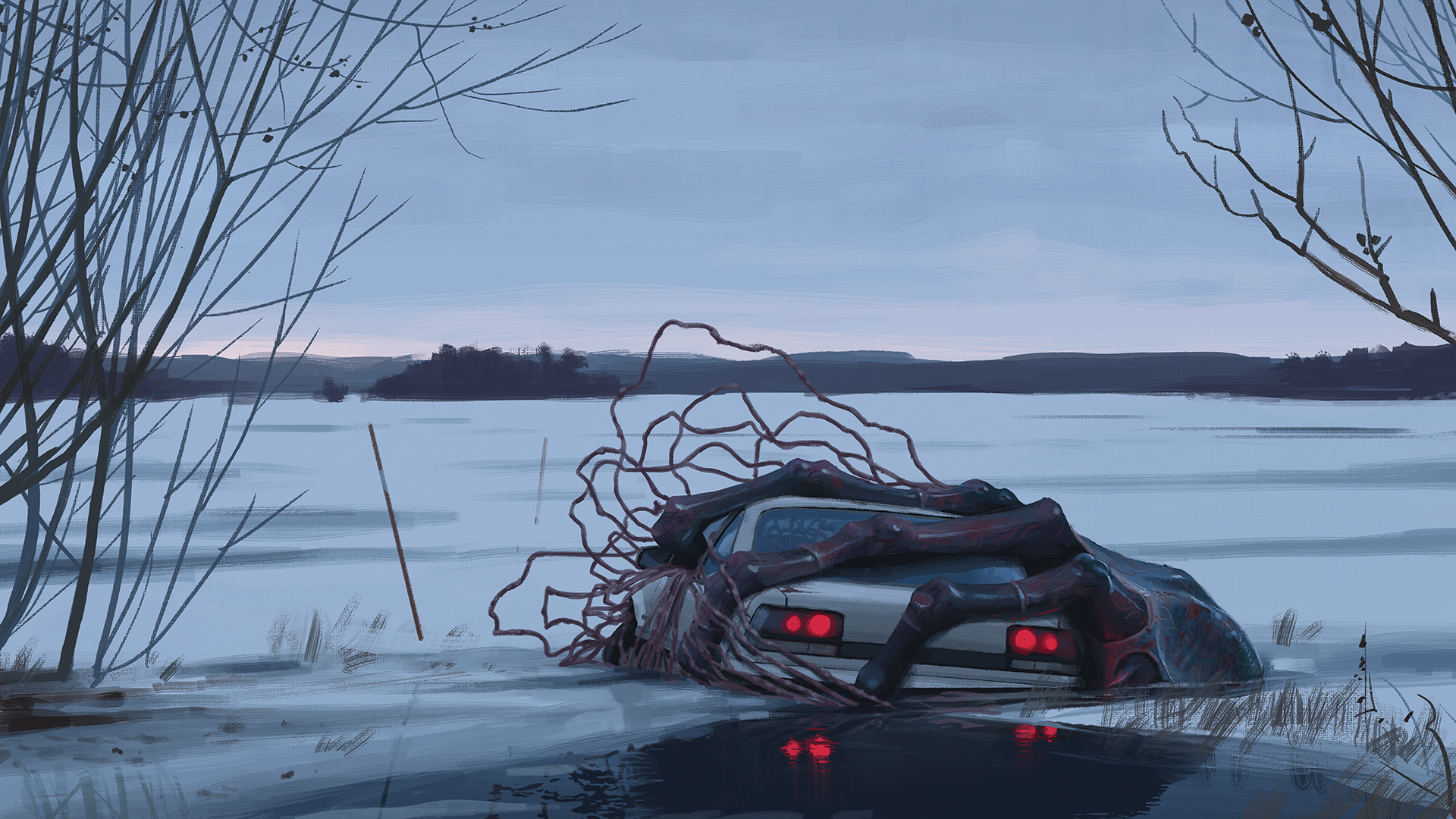 Hd Future Cars Wallpapers From Things From The Flood Simon St 229 Lenhag Biblioklept