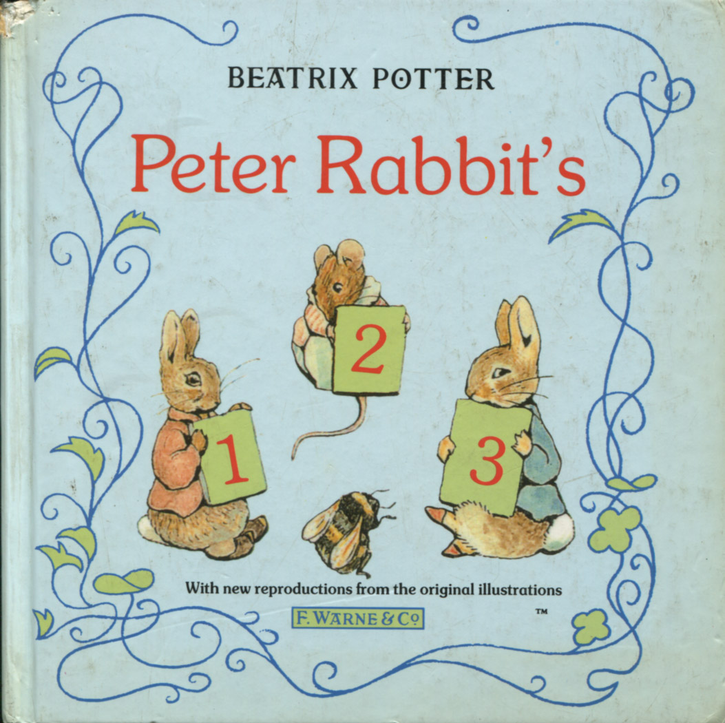 Beatrix Potter Libros Peter Rabbits 123 Biblioteca Tecnicolor