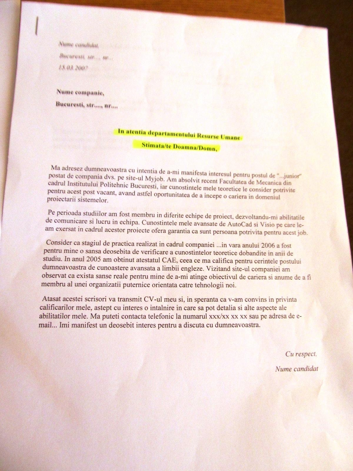Model Cv European Completat Scribd Europass Scrisoare De Intentieinterviu Elibrary
