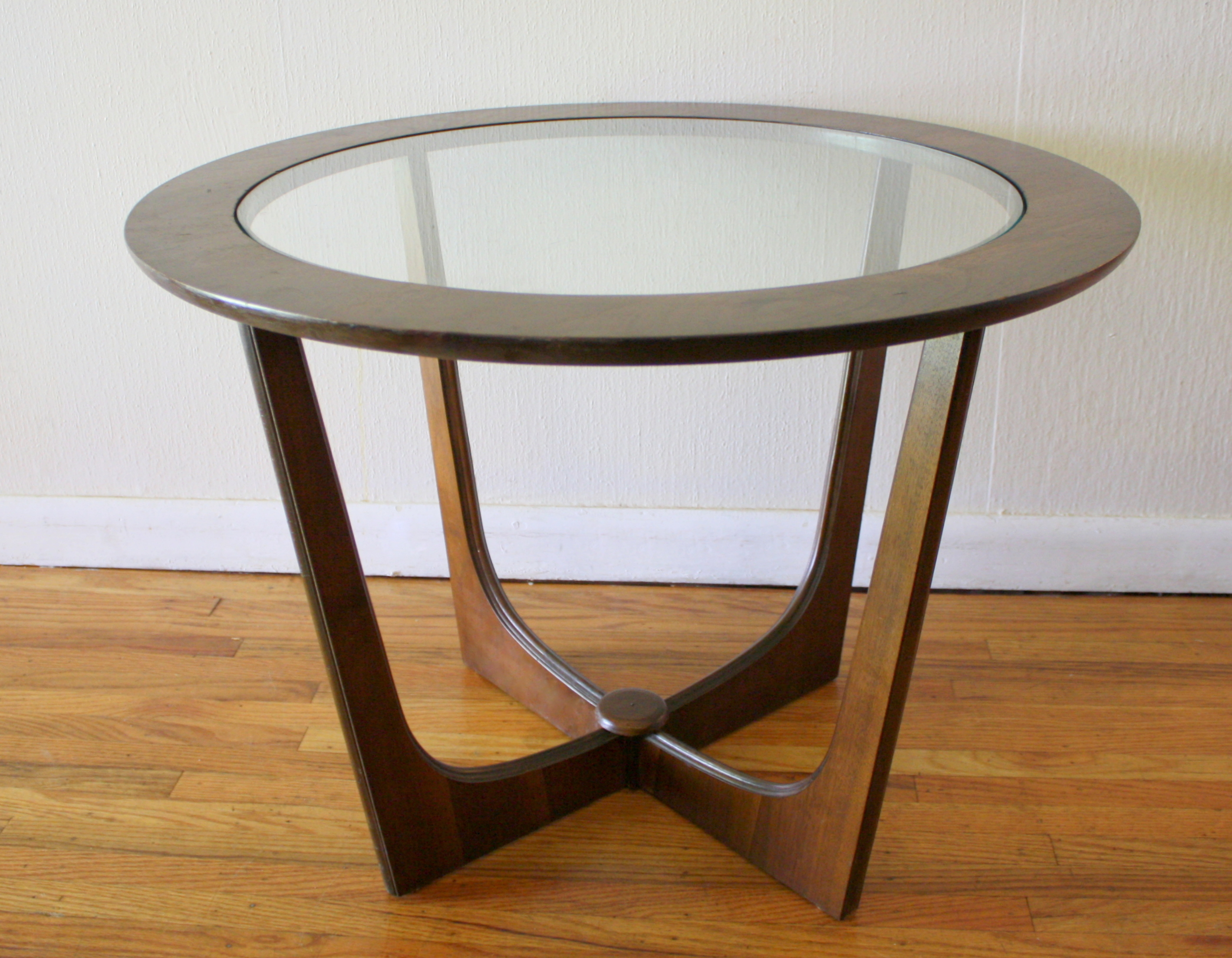 Round Glass Bedside Table Elegant Round Glass Top Coffee Table Cf 72 Details Bic