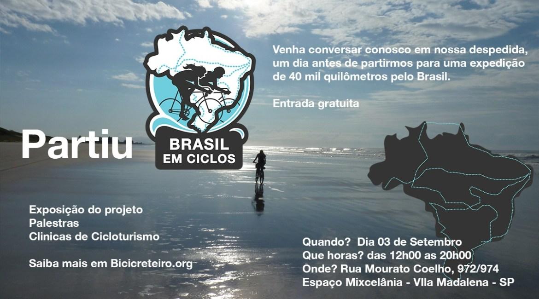 Partiu Brasil em Ciclos! Nossa despedida