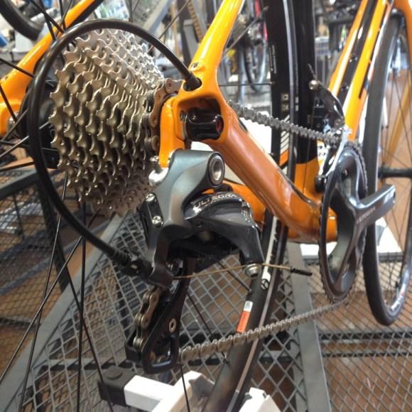 自転車のチェーンの付け方を勉強する