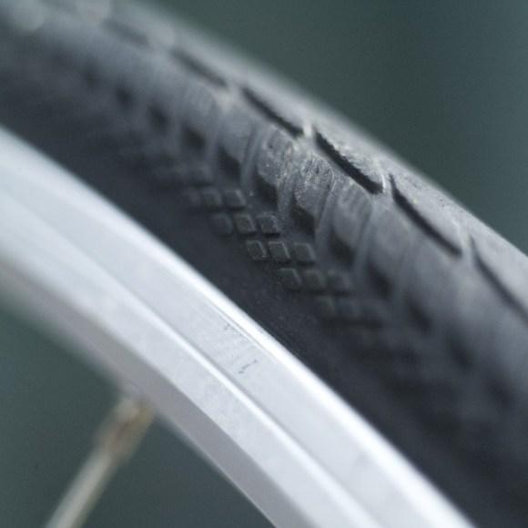 自転車のホイールリム調整について