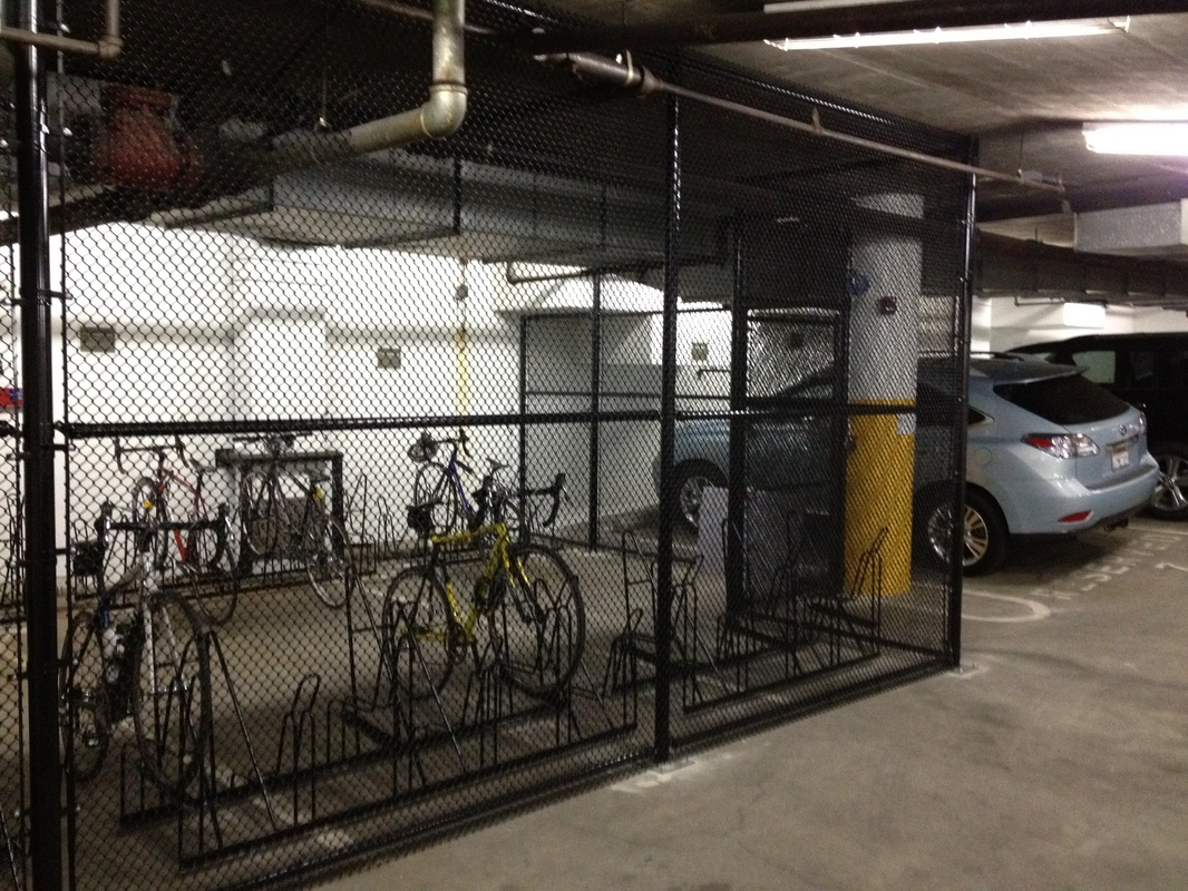 Parking Garage Bike Rack Parking Storage