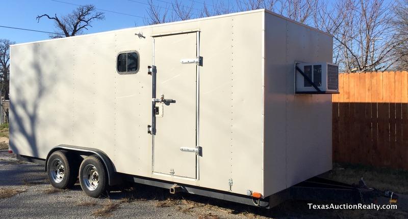 Shop Built Camper Toybox Trailer
