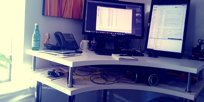 Table Exterieur Bois Hack Ikea : Bureau Assis / Debout D'angle