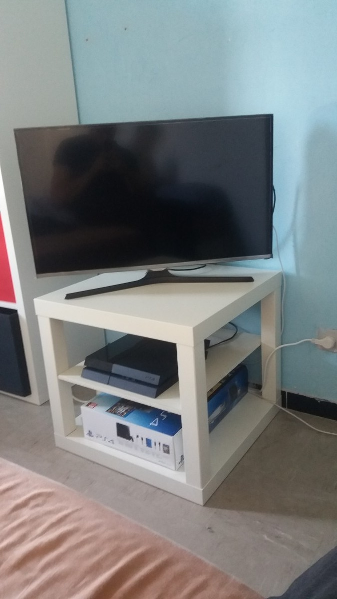 Meuble Angle Tv Hack D'un Banc Tv Ikea Lack