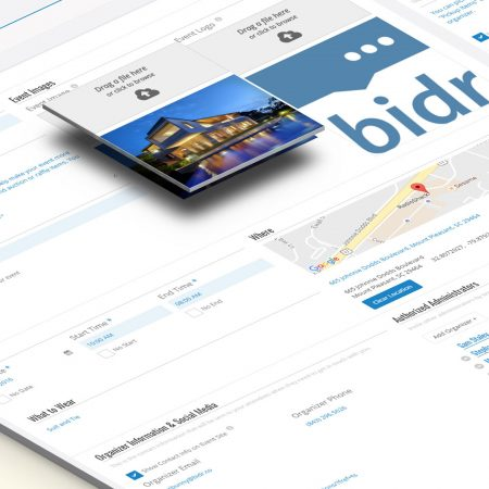 Bidr Text App for Fundraising Events Silent Auction  Raffle - silent auction app free