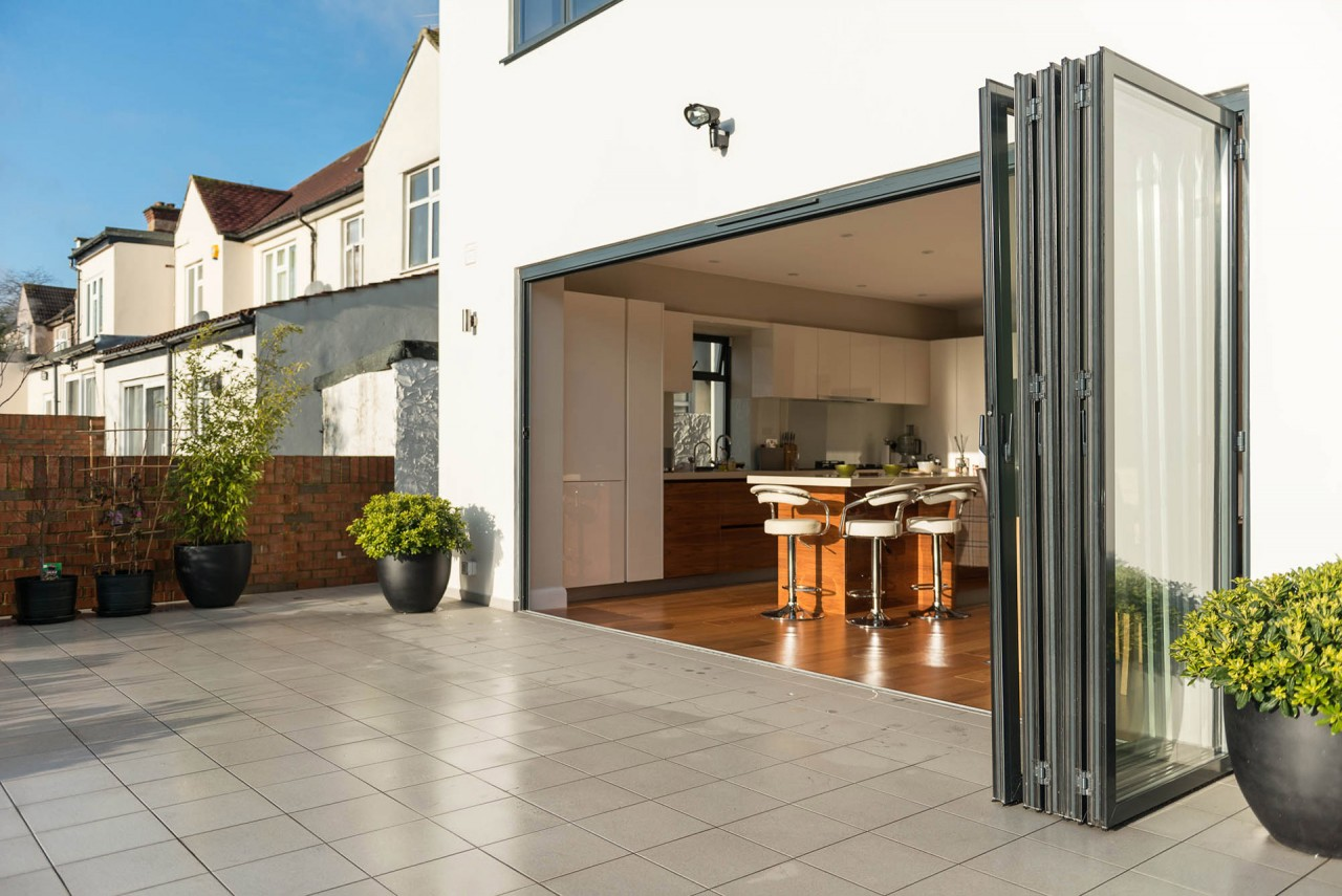 Schiebe Falttüren Aussen Folding Doors Sliding Doors In London Berkshire Slough