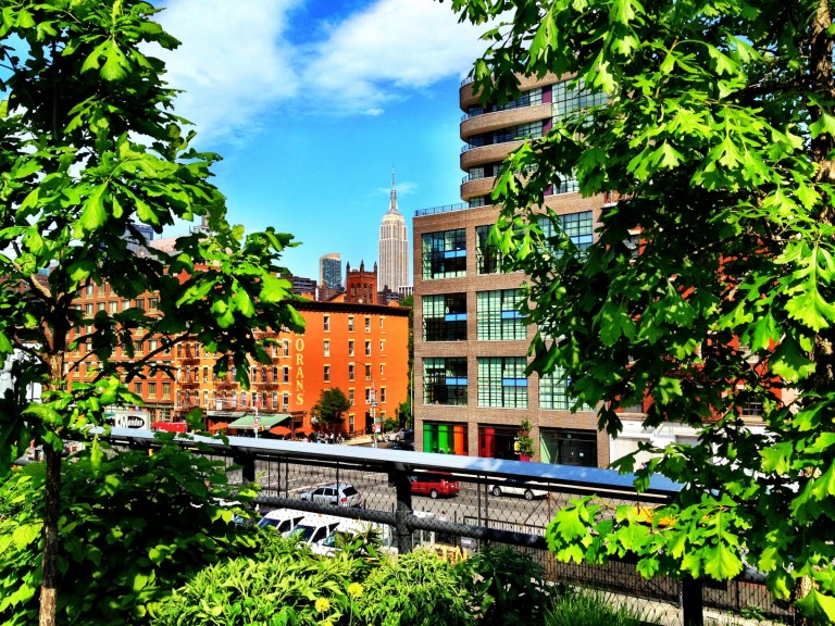 View from the Highline