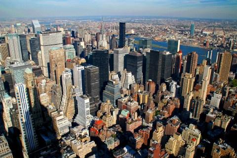 Crazy New York City Skyscraper