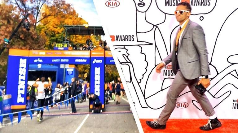 NYC Marathon vs YouTube Music Awards