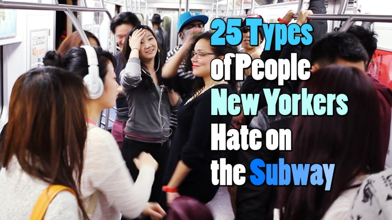 25 Types of People on the Subway