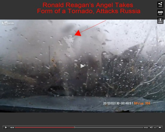 reagan angel attacks russia with tornado
