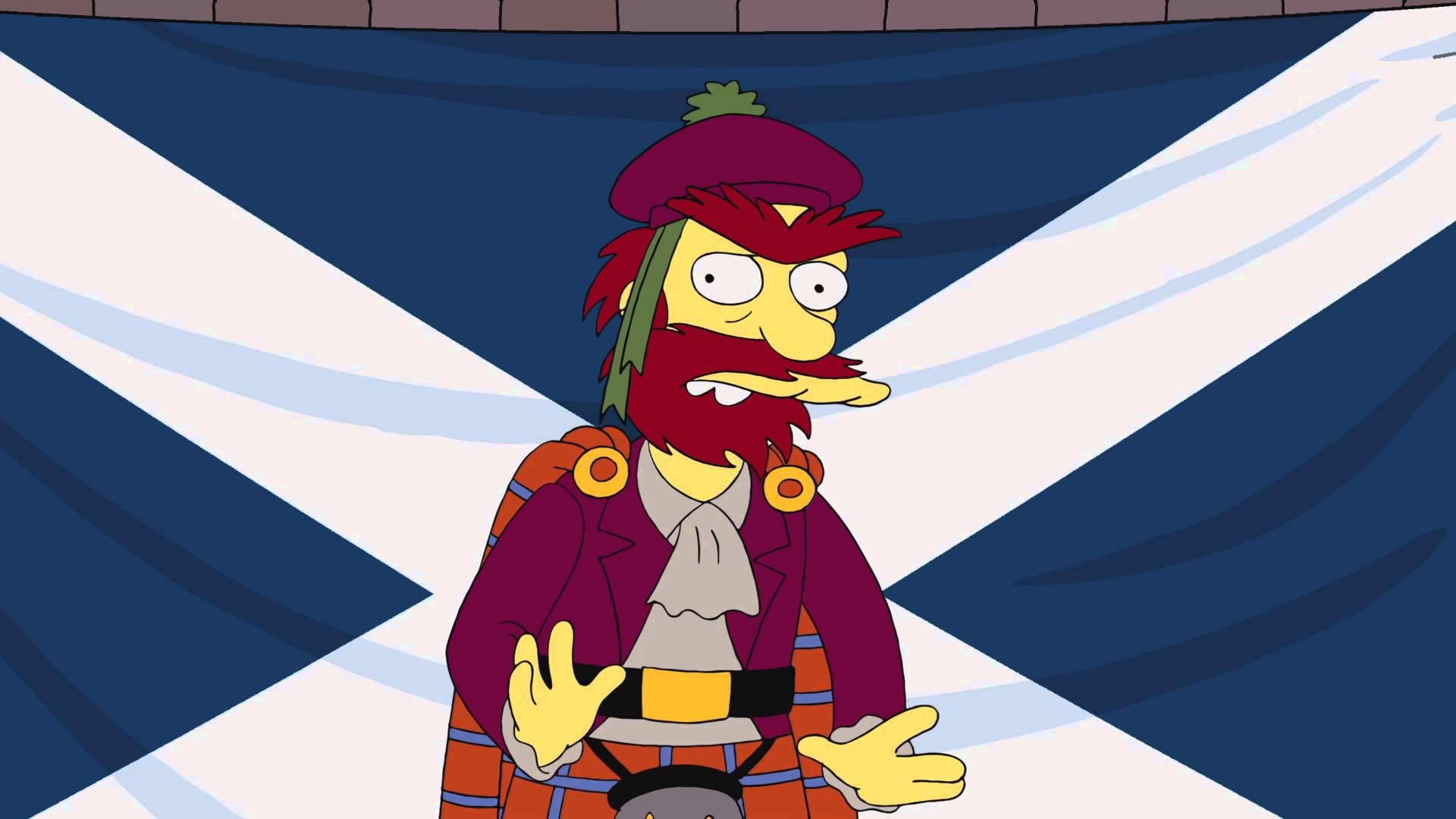 The Simpson's Groundskeeper Willie Weighs in on Scotland