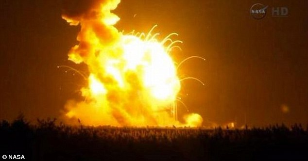 "ISIS Destroys NASA's Antares Rocket, Announces ""Americans Allowed in Space No More"""